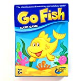 Continuum Games Go Fish Classic Card Game Fun for Children Age 3 and Up