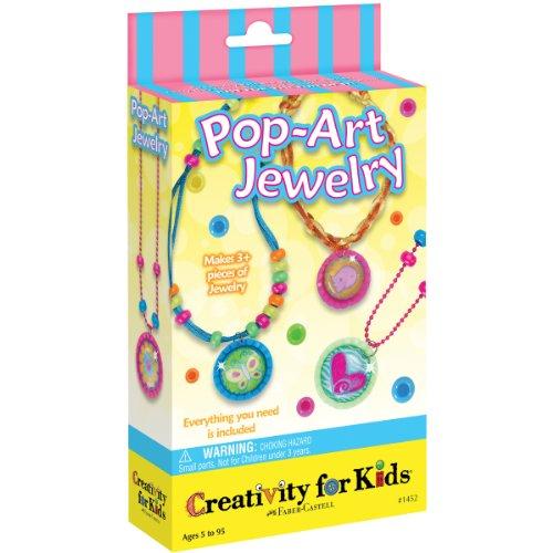 Creativity for Kids - Cfk1452 - Kit De Loisirs Créatifs - Mini-kit De Bijoux Pop Art
