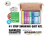 Paquete de 6 paquetes para dejar de fumar hábito de recarga ayuda natural Rápido y fácil ahora mejor que nicotina Parches de nicotina Chicles y pastillas Mejor relación calidad-precio