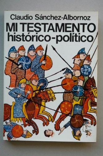 Mi testamento histórico-pol¸tico (Espejo de España)