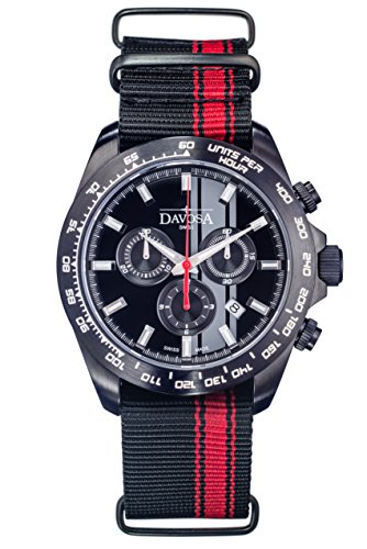 Davosa Speedline TX Chrono, Orologio da uomo al quarzo con Display,...