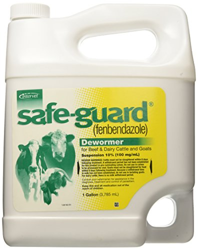 Merck Safeguard Suspension Pet Wormers, 1-Gallon
