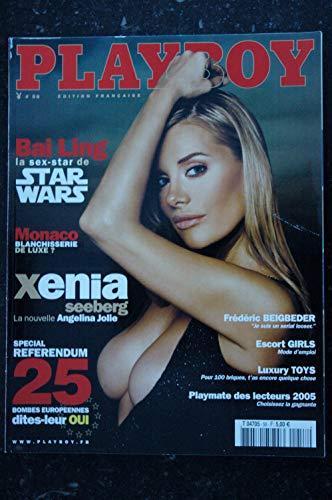 PLAYBOY 058 2005 JUIN STAR WARS BAI LING XENIA SEEBERG JAMIE WESTENHISER INTEGRAL NUDES HOT