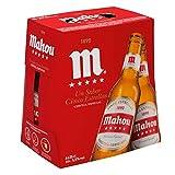 Mahou 5 Estrellas Cerveza Dorada Lager, 6 x 25cl