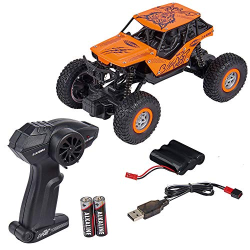 Carson 1:18 Micro Beast 2.4G 100% RTR, Ferngesteuertes Auto, RC Fahrzeug, inkl. Batterien und Fernsteuerung, Fahrzeit 20 min, 500404163