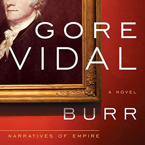 Burr audiobook cover art