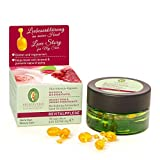 PRIMAVERA Revitalpflege Olio-Intensiv-Kapseln Rose Granatapfel 30 St. -Naturkosmetik - glättend und regenerierend für reife Haut - vegan