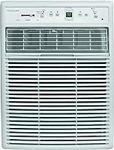 FRIGIDAIRE FFRS0822S1 8000 BTU Heavy-Duty Slider Casement, Electronic, Remote Control Window Air Conditioner, 8,000, White