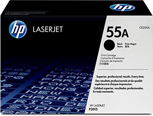 HP 55A (CE255A) Schwarz Original Toner für HP Laserjet Enterprise P3015, M525, HP Laserjet Pro M521
