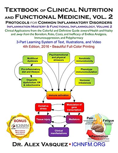 Textbook of Clinical Nutrition and Functional Medicine, vol. 2: Protocols for Common Inflammatory Disorders (2) (Inflammation Mastery & Functional Inflammology)