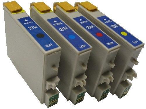RuckZuck 12x Druckerpatronen kompatibel für EPSON Stylus C64 C66 C84 C86 CX3600 CX4600 CX6600