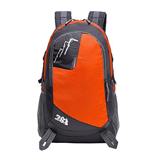 28L étanche grande capacité Outdoor Alpinisme Sac Voyage sac à bandoulière Sac à dos sport , orange