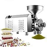 3000 W kommerzielle superfeine Getreidemühle aus Edelstahl, Getreidemühle, industrielle Kräuter,...