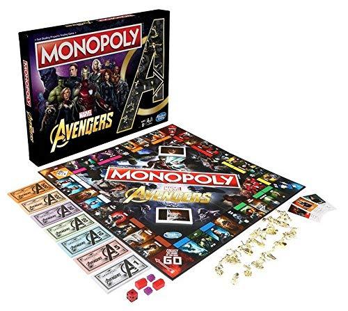 Hasbro Monopoly Avengers, Mehrfarbig, unifarben (5.01099E+12)