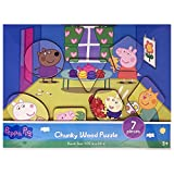 Spin Master Peppa Pig Chuck Wood Puzzle (Assorted Styles)