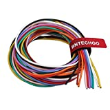 BNTECHGO 18 Gauge Silicone Wire Kit 10 Color Each 5 ft Flexible 18 AWG Stranded Tinned Copper Wire