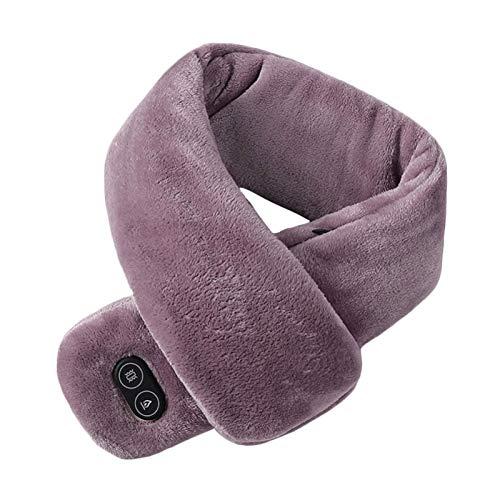 gszfsm001 - Manta para chal de masaje con vibración, con USB de invierno