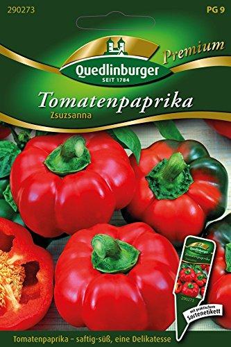 Tomatenpaprika Zsuzsanna von Quedlinburger Saatgut
