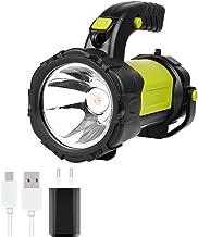 LED Camping Lantern USB oplaadbare COB zaklamp Lantaarn for Hurricane Emergency, wandelen, vissen Inclusief batterijen (Bo...