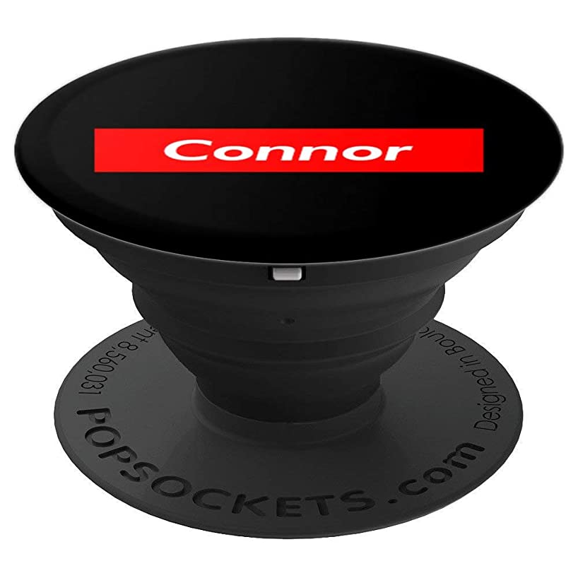 Connor Phone Gift Red Box Personalized Name Birthday Gift - PopSockets Grip and Stand for Phones and Tablets