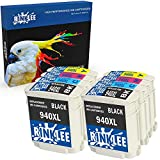 RINKLEE 8 Compatible 940XL 940 XL Ink Cartridges