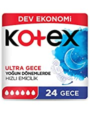 Kotex Ultra Dev Eko Gece 24lü 1 Paket (1 x 248 g)