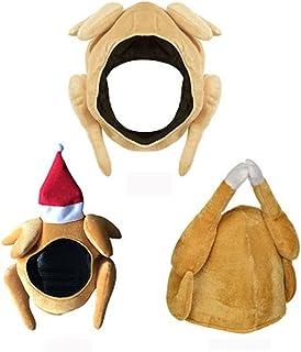 Holiday Hat قبعة للأطفال أفخم تركيا المحمص قبعات ديكور قبعة المطبوخة الدجاج الطيور سر لفستان الحزب