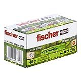 Fischer - Taco universal (UX), verde 6 x 35 mm