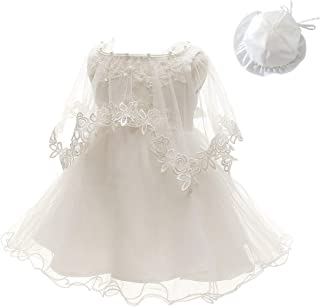 KRUIHAN Newborn Baptism Gown Wedding Party Pageant Artistic Photos Baptism Costume