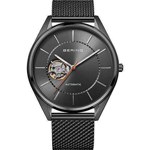 Bering Reloj analógico automático para hombre con correa de acero inoxidable 16743-377