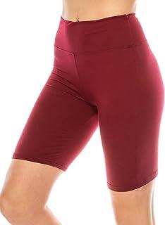 Women High Waisted Premium Buttery Soft Biker Shorts