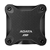 ADATA SD600Q 240GB 3D NAND USB3.2 Ultra-Speed External Solid State Drive Read up to 440 MB/s Black...