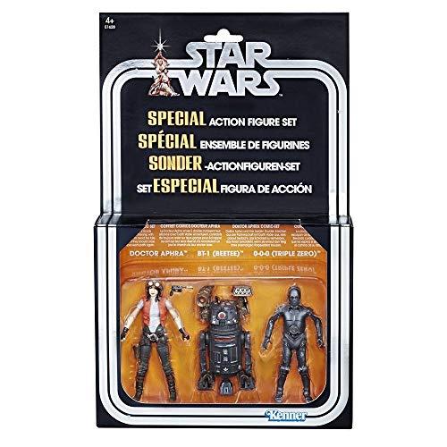 Hasbro Star Wars Premium Vintage Collection Action Figure 3-Pack Doctor Aphra Comic Set