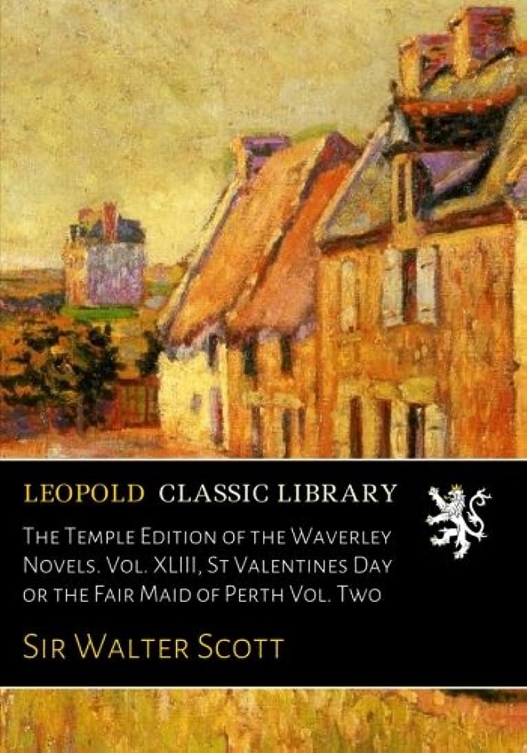 符号カーペット見てThe Temple Edition of the Waverley Novels. Vol. XLIII, St Valentines Day or the Fair Maid of Perth Vol. Two