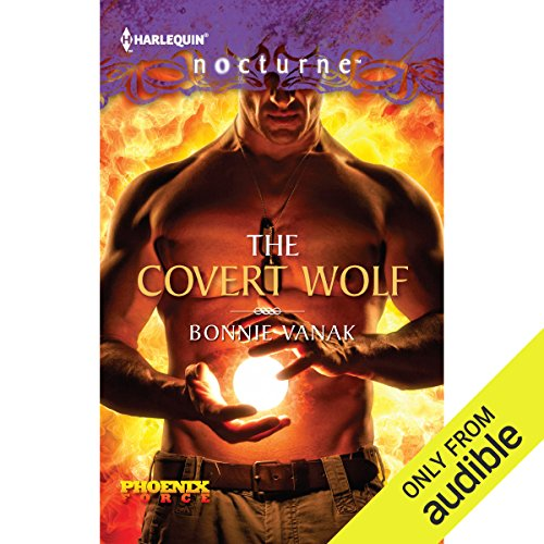 The Covert Wolf audiobook cover art