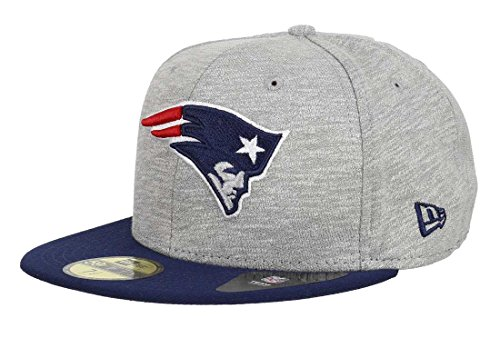 New Era Team Jersey Crown New England Patriots casquette 6 7/8 gry