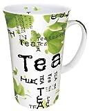 Konitz 19-Ounce Tea Collage Mega Mugs, Assorted, Set of 4
