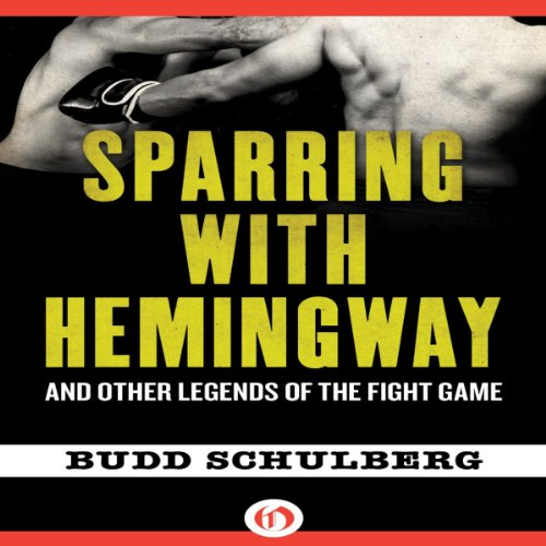 Sparring with Hemingway audiobook cover art