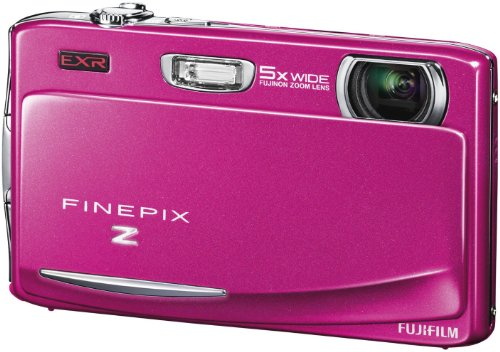 Fujifilm FINEPIX Z950EXR Digitalkamera (16 Megapixel, 5-fach optischer Zoom, 8,9 cm (3,5 Zoll) Display, bildstabilisiert) pink