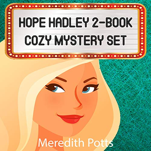 Hope Hadley 2-Book Cozy Mystery Set cover art