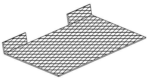 FABER 112.0157.248 - Filtro metallico antigrasso in scatola per cappe modello 152 LG, 2152, 2156, 540 mm x 199 mm