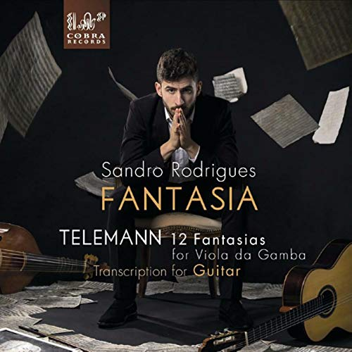 Fantasia - Telemann: 12 Fantasias For Viola Da Gamba