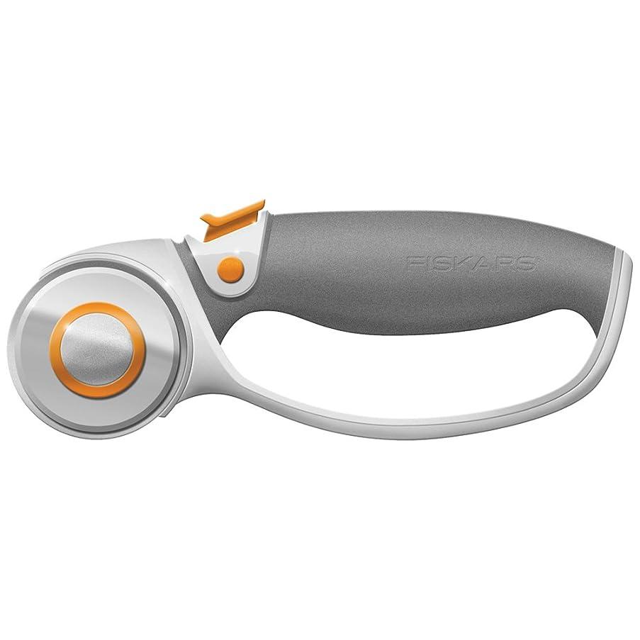 Fiskars 01-005874 Titanium Softgrip Comfort Loop Handle Rotary Cutter, 45mm, Gray