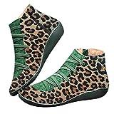 Mujer Botas de Nieve Zapatos Invierno Impermeables Calientes Forradas Cortas...