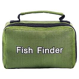Lixada Sac de Rangement pour Détecteur de Poisson Étui de Transport pour Appareil Photo de Pêche sur Glace sous-Marine…