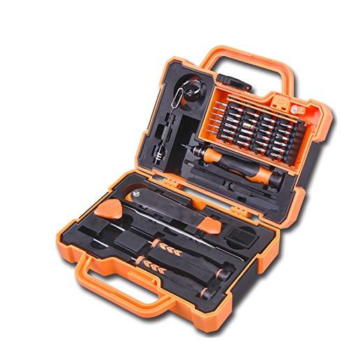 MissLi Herramienta de Mano Conjunto para el hogar Kit de Herramientas de reparación de teléfono móvil Caja de Herramientas Mini Conjunto magnético de precisión (Size : 31pcs Mini Set)