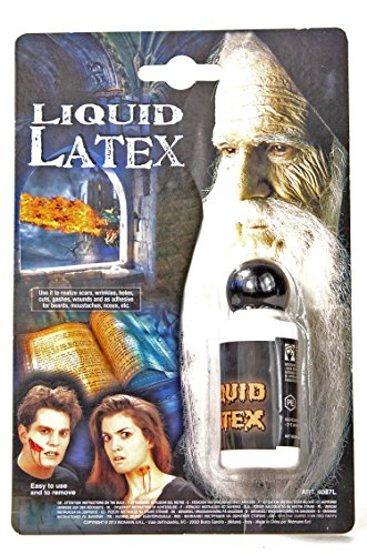 Flüssiges Latex Theater Flüssiglatex Kunsthaut flüssig Latexapplikationen Gesichtsschminke Halloween Liquid