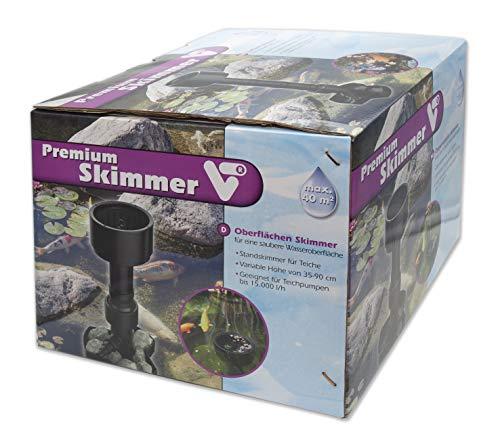 Velda Premium Skimmer Schwarz 24x32x30 cm Kunststoff
