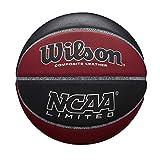 Wilson NCAA Limited BLMA, WTB06589XB07 Pallone da Basket, Indoor e Outdoor, Cuoio Composit...