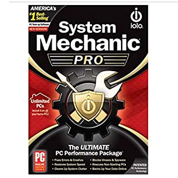 iolo - System Mechanic Pro Computer Cleaner for Windows Blocks Viruses and Spyware Restores System Speed Software License